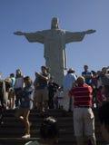 Rio de Janeiro Jesus statue Stock Photos