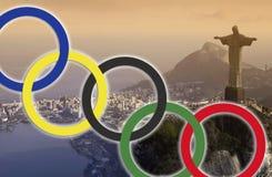 Rio de Janeiro - Jeux Olympiques 2016 Photo libre de droits