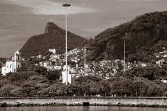 Rio de Janeiro kustlinje Royaltyfria Bilder