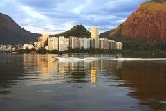 Rio de Janeiro. The lagoon. Royalty Free Stock Photography