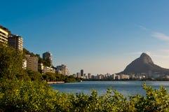 Rio de Janeiro Lakeside Royalty Free Stock Photography