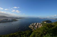 Rio de Janeiro landform, geografiskt särdrag, kust, kropp av vatten arkivbild