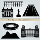 Rio de Janeiro landmarks and monuments Stock Photo