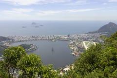 Rio de Janeiro landscape. Another beautiful view of Rio de Janeiro royalty free stock photo