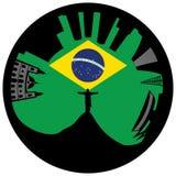 Rio de Janeiro looks like ring Royalty Free Stock Image