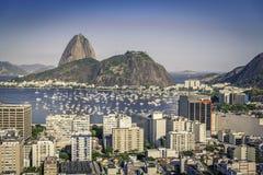 Rio de Janeiro-Luftweinleseansicht stockfotografie