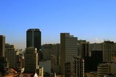 Rio De Janeiro miasta widok Zdjęcie Royalty Free