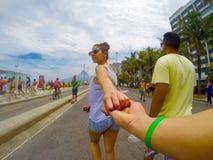 Rio de Janeiro mig det Arkivfoton