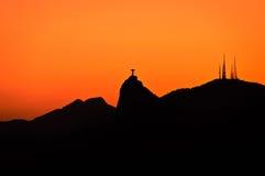 Rio de Janeiro Mountain Landscape Stock Photo