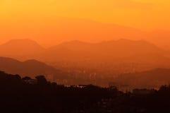 Rio de Janeiro Mountain Range Stock Image