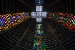 Rio De janeiro New Catholic Cathedral Imagens de Stock