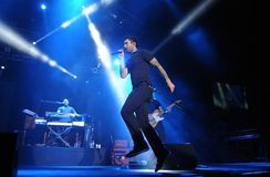 Maroon 5. Rio de Janeiro, November 19, 2009 Royalty Free Stock Images