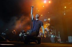 Maroon 5. Rio de Janeiro, November 19, 2009 Stock Photo
