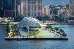 Rio De Janeiro od nadmorski punkt widzenia, Brazylia obraz stock