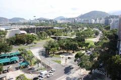 Rio De Janeiro odgórny widok obraz stock