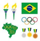 Rio De Janeiro Olympics Fotografia Stock