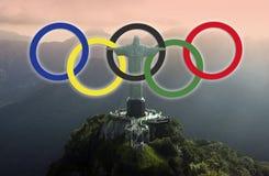 Rio de Janeiro - 2016 Olympische Spelen stock afbeelding