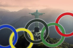 Rio de Janeiro - Olympische Spiele 2016 stockfoto