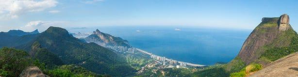 Rio de Janeiro Panorama, Brazil Stock Photography