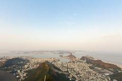 Rio de Janeiro. Panorama of the city of Rio de Janeiro as seen from the Corcovado mountain stock photography