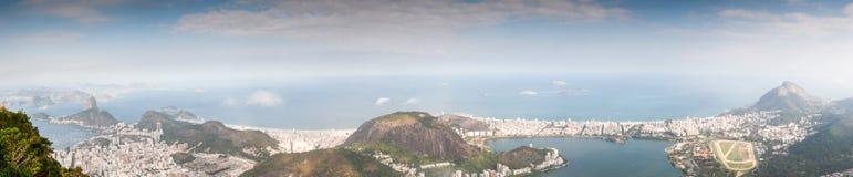 Rio de Janeiro Panorama view Stock Photography
