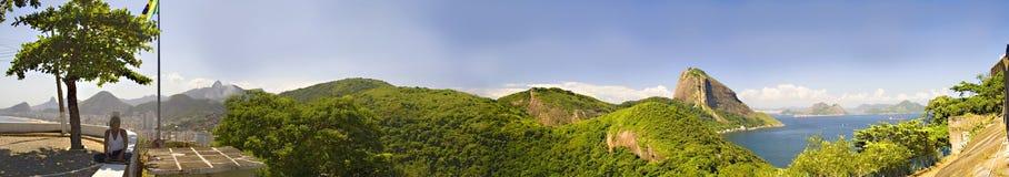 Rio de Janeiro Panoramic Royalty Free Stock Photo