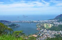 Rio de Janeiro. Panoramic view over the city of Rio de Janeiro in Brazil stock photo