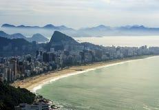 Rio de Janeiro panoramisch Lizenzfreies Stockfoto