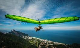 Rio de Janeiro Paraglider stock photo