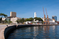 Rio de Janeiro Port Royalty Free Stock Image