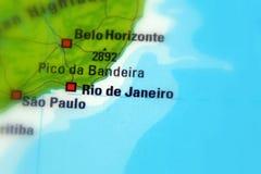 Rio de Janeiro. Or Rio, city in Brazil Stock Photos
