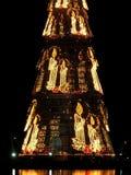 Rio de Janeiro? s het detail van de Kerstmisboom Stock Afbeelding
