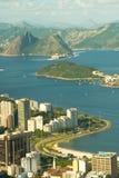 Rio de Janeiro and Guanabara bay Stock Image