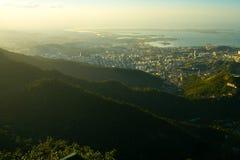Rio de Janeiro's unique landscape Stock Image
