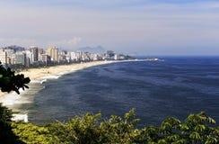 Rio de Janeiro Seashore Royalty Free Stock Photography