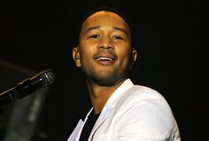 John Legend. Rio de Janeiro, September 20, 2015, Singer John Legend, during his show at Rock in Rio 2015 in the city of Rio de Janeiro, Brazil royalty free stock photos