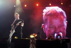 James Hetfield Metallica stock photography