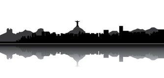 Rio de Janeiro skyline Royalty Free Stock Photography