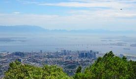 Rio de Janeiro skyline Royalty Free Stock Image