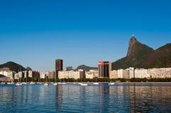 Rio de Janeiro Skyline with Corcovado Royalty Free Stock Images