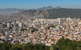 Rio de Janeiro Slums on the Hills Royalty Free Stock Photography