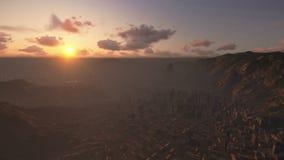 Rio de Janeiro soluppgång royaltyfri illustrationer