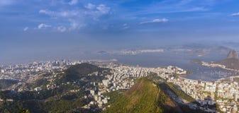 Rio de Janeiro som panorerar den panoramaTid schackningsperioden lager videofilmer