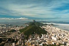 Rio de Janeiro South Zone Landscape Royalty Free Stock Photography