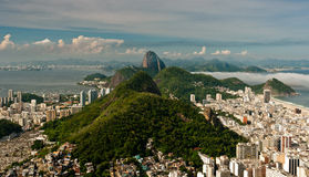Rio de Janeiro South Zone Landscape Royalty Free Stock Images