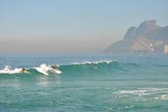 Rio de Janeiro - spiaggia del Ipanema (4) Immagini Stock