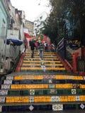 Rio de Janeiro st Tereza. Rio de Janeiro  district Brazil stock photos