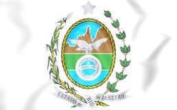 Rio de Janeiro state coat of arms, Brazil. Stock Image