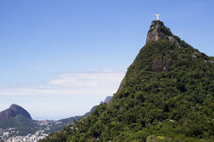 Rio de Janeiro. The Statue Of Christ The Savior. Stock Photography