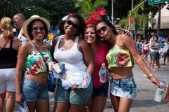 Rio de janeiro Street Carnival imagem de stock